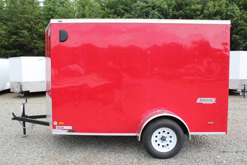 2016 Bravo Scout 6x10 w/ Ramp Door