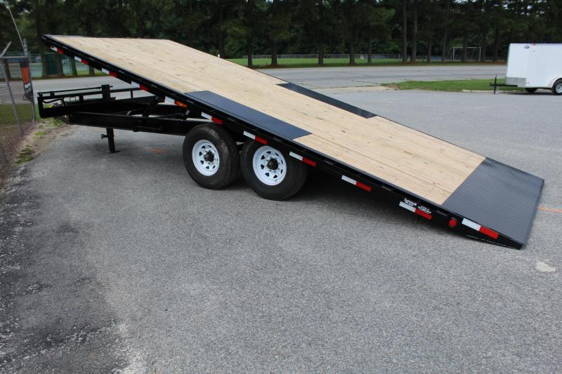 2019 PJ Trailers 22ft T8 Deckover Tilt