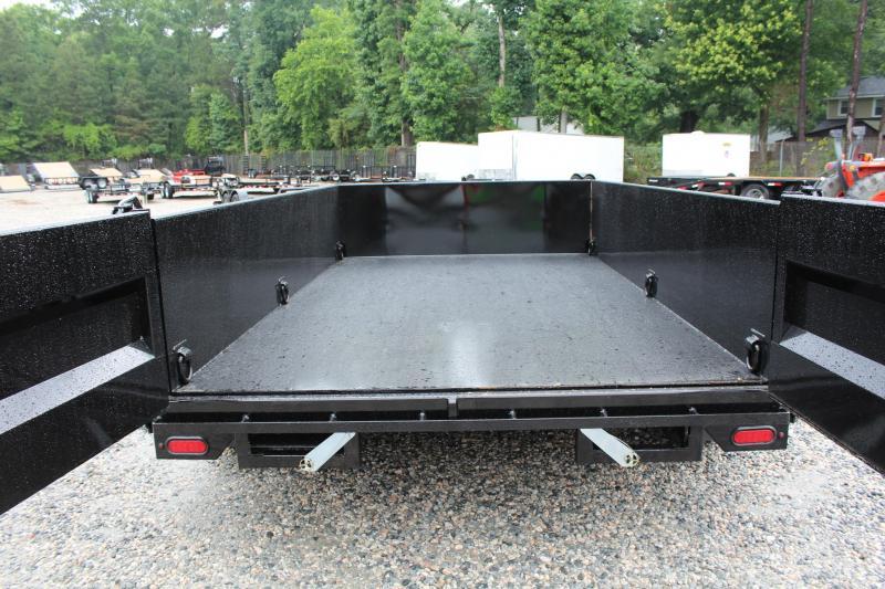 2019 Midsota 18ft Combo 14K Dump w/ 6ft Front  Deck