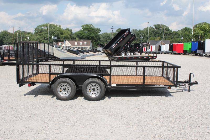 2018 Texas Bragg 16LD w/ 2ft Expanded Sides & Gate