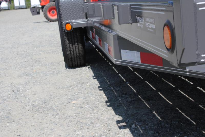 2020 PJ Trailers 20CC 14K w/ Tongue Box and Fold Up Ramps
