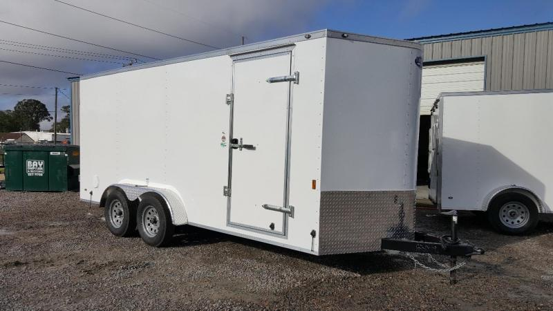 2019 Continental Cargo 7X16 w/ Double Rear Doors