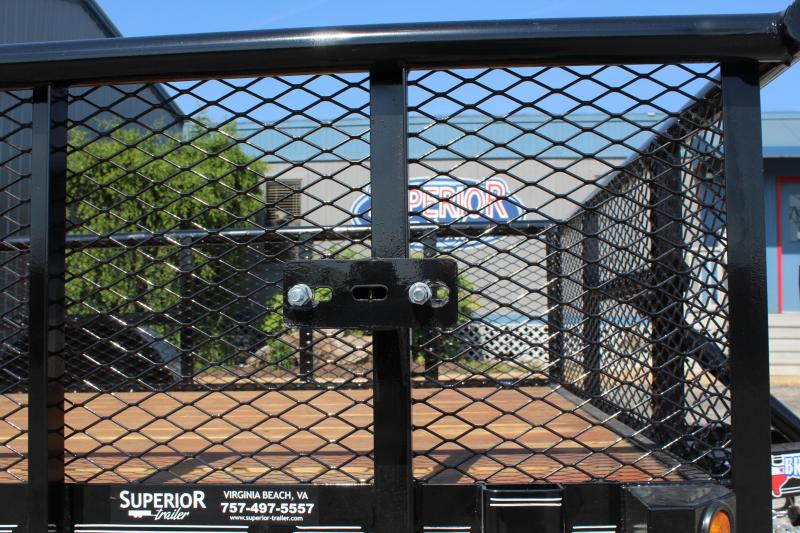 2018 Texas Bragg 6x10P w/ 2ft Expanded Sides & Gate
