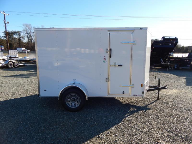2019 Continental Cargo 6x10 Special w/ Ramp Door