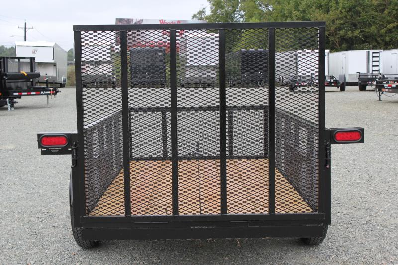 2019 Down 2 Earth 5X10 w/ 2ft Expanded Sides & Gate