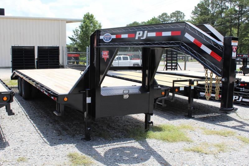 2019 PJ 30ft FD Gooseneck w/ Monster Ramps