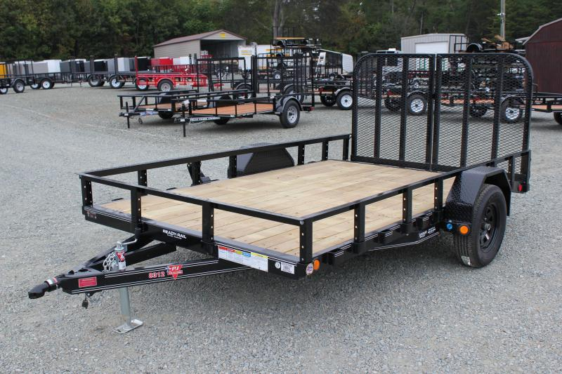 2018 PJ Trailers 7x12 U7 w/ Gate