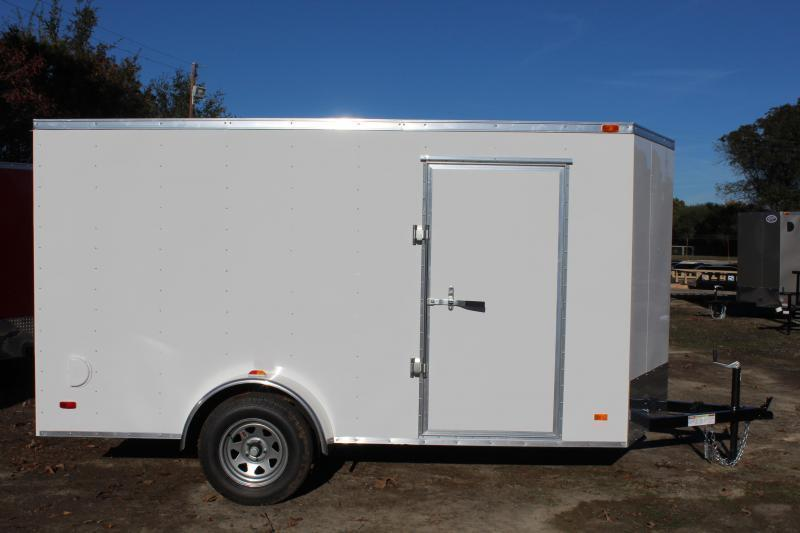 2018 Bravo Hero 6X12 w/Ramp Door