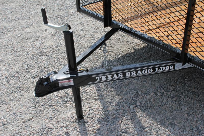 2019 Texas Bragg 6x12LD w/ 2ft Expanded Sides and Gate