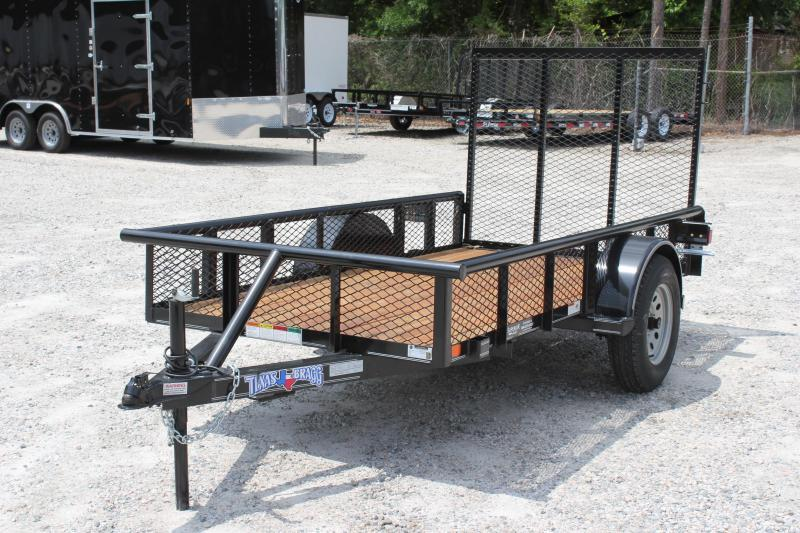 2018 Texas Bragg Trailers 5X10P Expanded Sides Utility Trailer