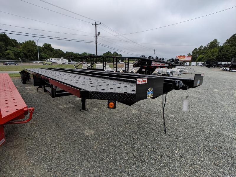 2019 Take 3 53' Low Pro Wedge w/ Trailer Hauling Pkg and Super Singles