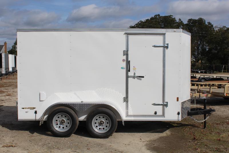2020 Continental Cargo 6x12 7K w/ Double Door