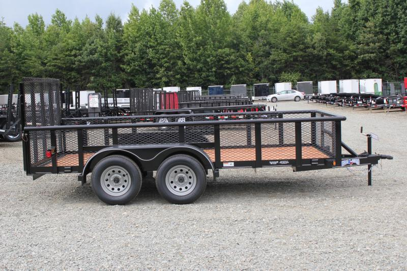 2019 Texas Bragg 14P 2ft Expanded Sides and Gate