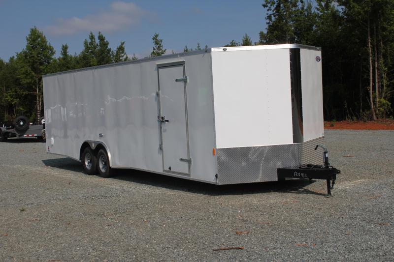 2020 Continental Cargo 8.5X28 10K W/Ramp Door