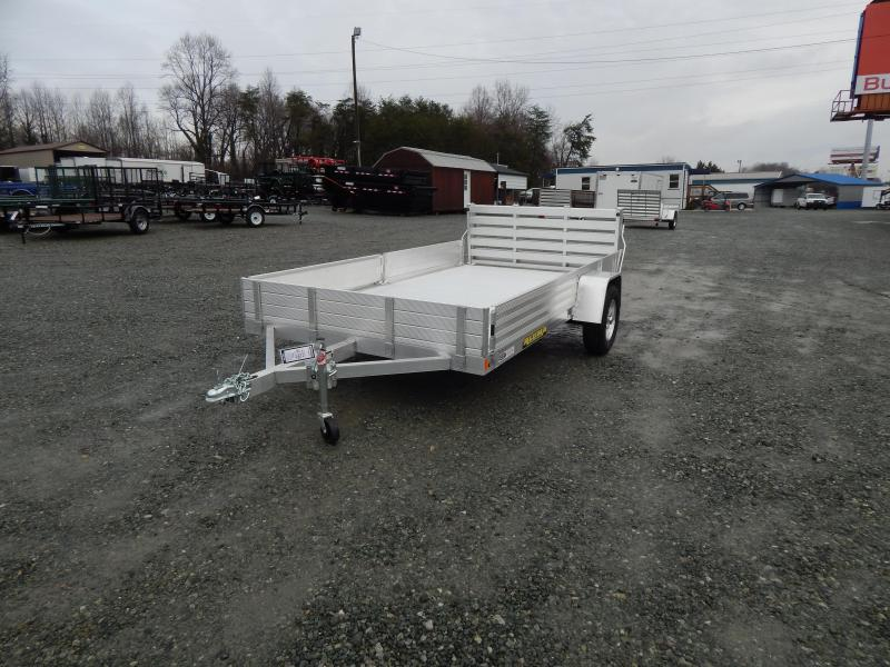 "2020 Aluma 8112SR BT w/ Side Ramps 12"" Sides & Bi Fold Gate"