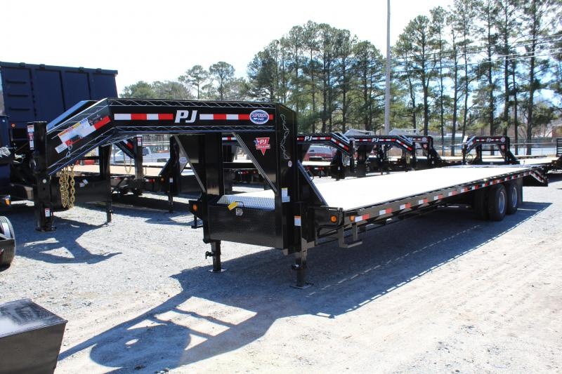 2019 PJ Trailers 34ft FD Gooseneck  w/ Monster Ramps