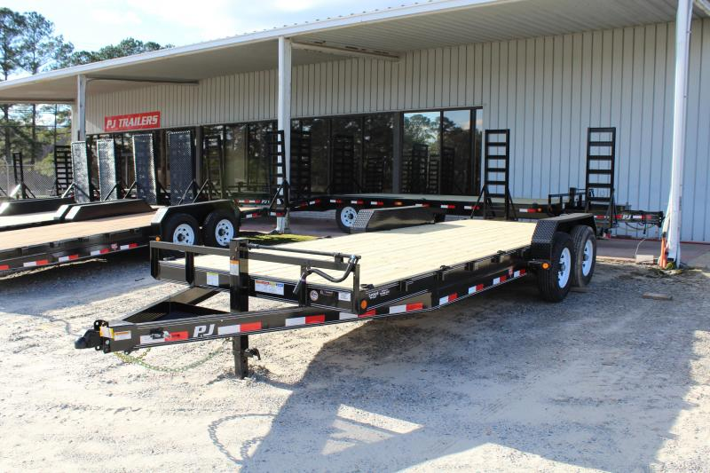 2019 PJ Trailers 22' CC 14K w/ Fold Up Ramps