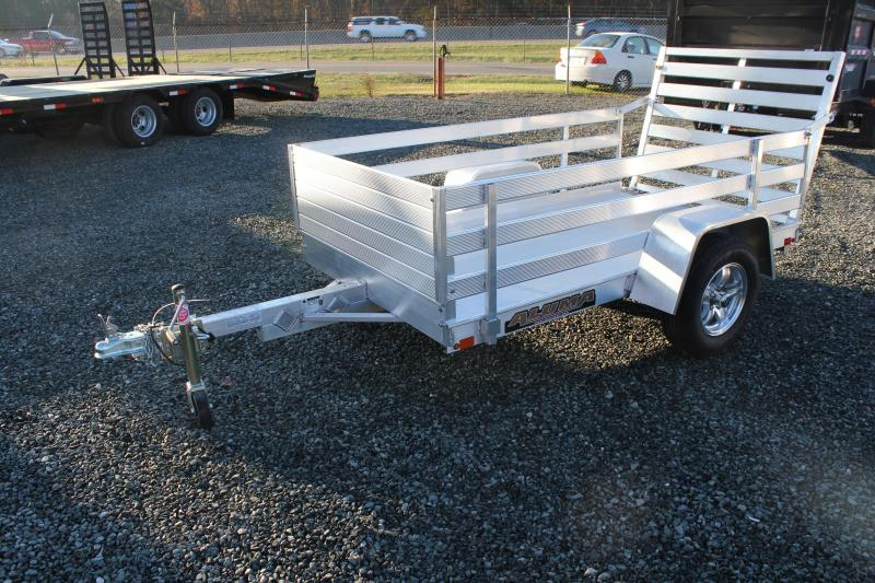 "2020 Aluma 548 LW Utility Trailer w/ 24"" Side Rack & Tailgate in Ashburn, VA"