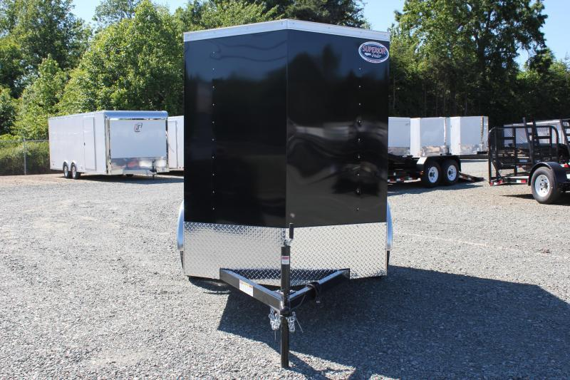 2018 Bravo Hero 5x8 w/ Extra Height & Ramp Door