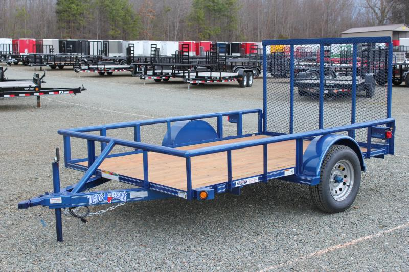 2019 Texas Bragg Trailers 6x10P w/ Gate in Ashburn, VA