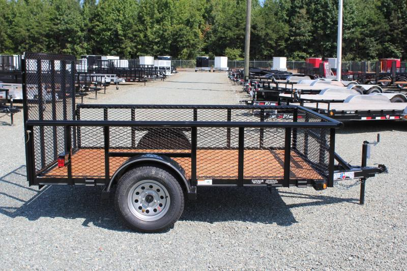 2019 Texas Bragg 6x10P w/ 2ft Expanded Sides and Gate