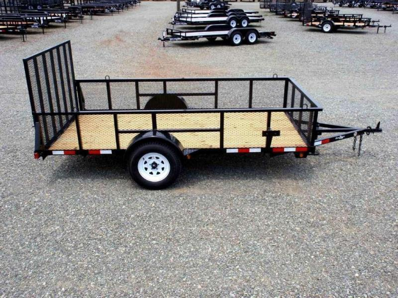 2018 Down 2 Earth 6x12 w/ 2ft Expanded Sides & Gate