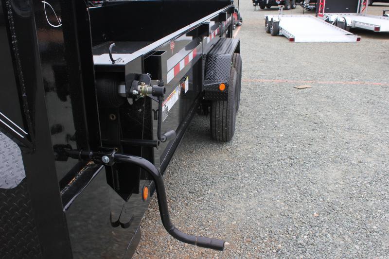 2020 PJ 7X16 DL Gooseneck Low Pro Dump Trailer