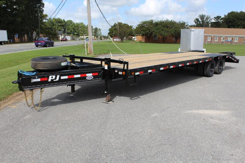 2019 PJ Trailers 30ft PL Low Pro Pintle Equipment Trailer