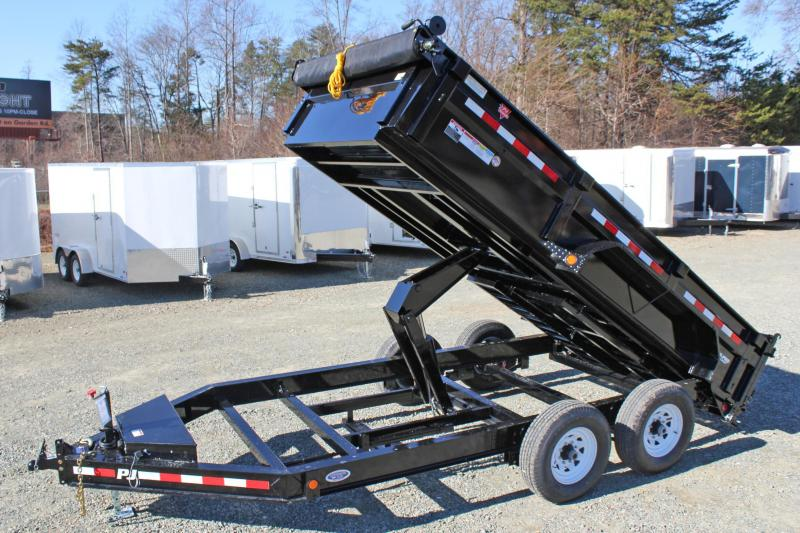 2019 PJ Trailers 7X14 DL 14K Dump Trailer in Ashburn, VA