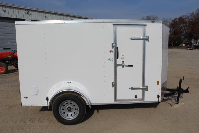 2020 Continental Cargo 5X10 w/ Double Rear Doors