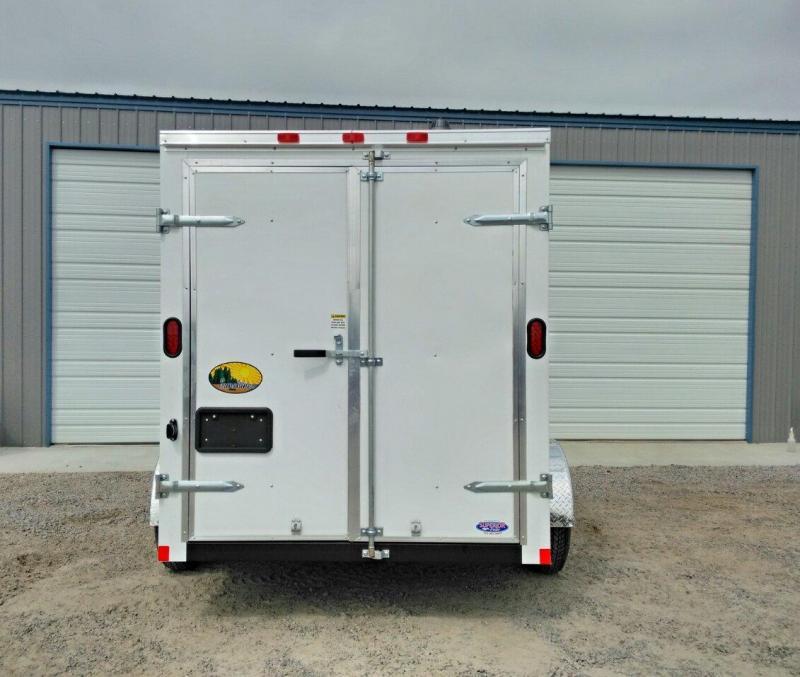 2019 Continental Cargo 6X10 w/Double Rear Door