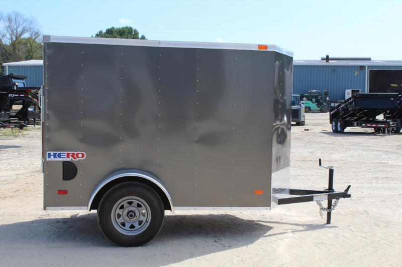 2019 Bravo Hero 5x8 w/ Extra Height & Ramp Door
