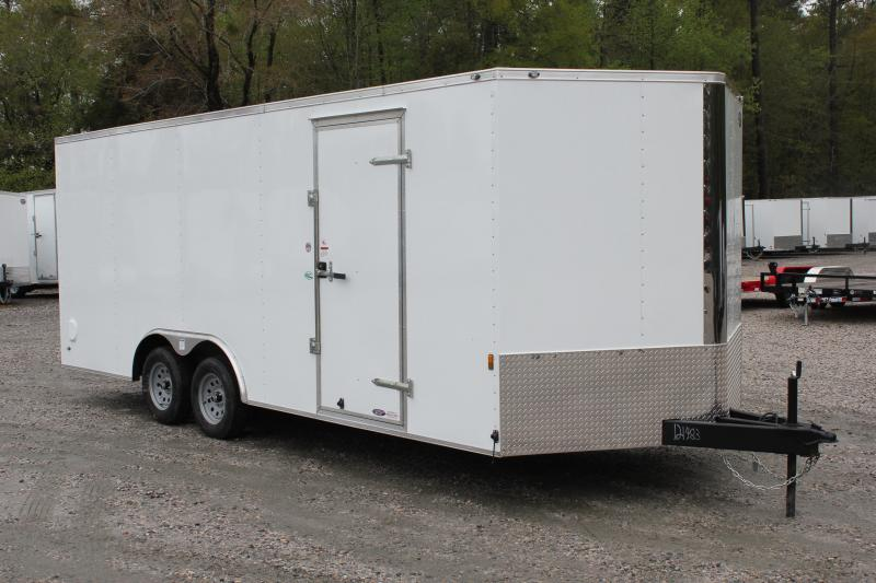2019 Continental Cargo 8.5X20 7K w/Ramp Door