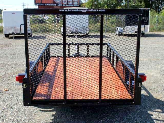 2016 Texas Bragg 5X10P w/ Gate