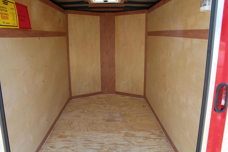 2020 Continental Cargo 5X8 w/Double Rear Door