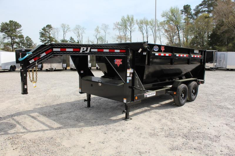 2020 PJ Trailers 7X14 DR 14K Roll Off Dumpster Trailer