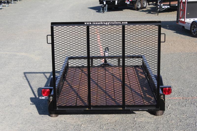 2019 Texas Bragg 5X10LB w/ Gate
