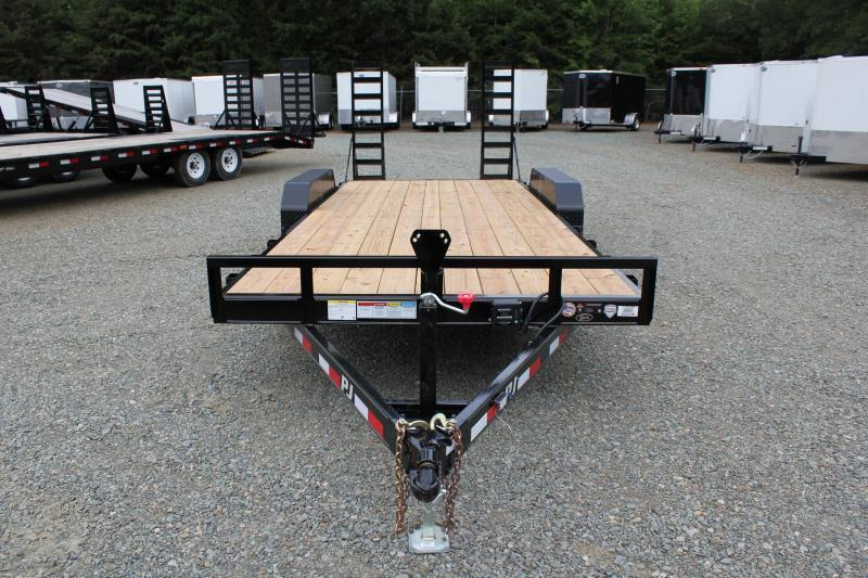 2018 PJ Trailers 20 CE 10K w/ Fold Up Ramps