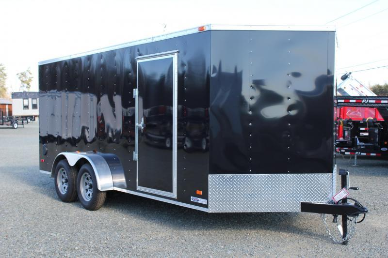 2020 Bravo Hero 7x16 w/ Ramp Door in Ellerbe, NC
