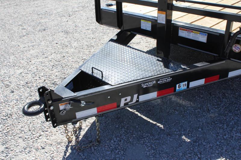 2018 PJ Trailers 24ft C8 16K Equipment Trailer