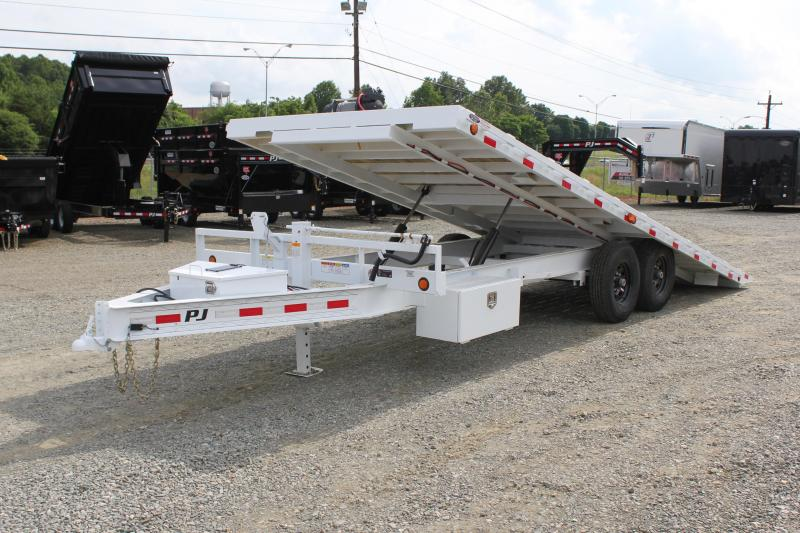 2019 PJ Trailers 22ft T8 Deckover Tilt in Ashburn, VA