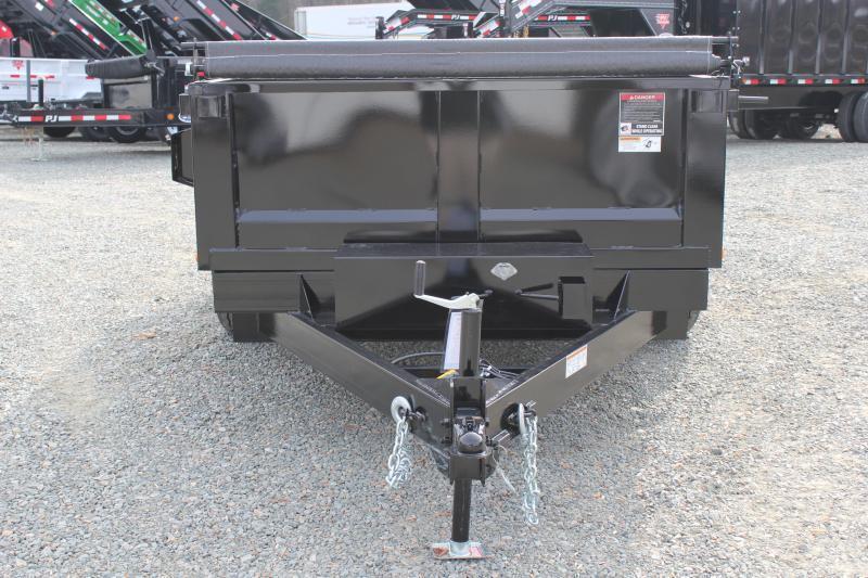 2018 Hawke 6X12 10K Dump w/ Spreader Gate Ramps & Tarp