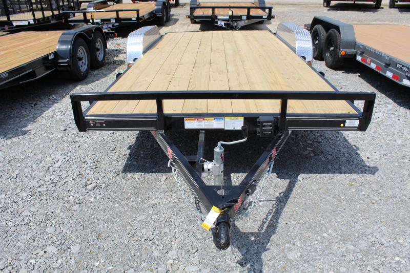 2019 PJ Trailers 18' C4 7K Car / Racing Trailer w/ Slide In Ramps