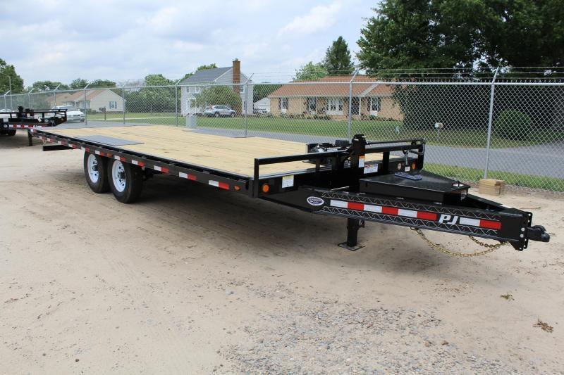 2020 PJ Trailers 22ft T8 14K Tilt Equipment Trailer