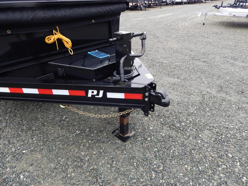 "2019 PJ Trailers 7X16 DL 14K Dump w/ 24"" Exp Metal Side Extensions"