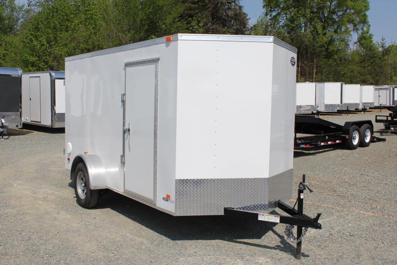 2020 Bravo Hero 6x12 w/ Double Rear Door  in Morrisville, NC