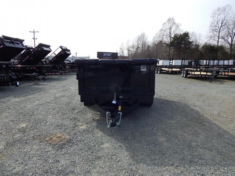 2019 Hawke 7x12 12K Dump w/ 3' Sides Ramps & Tarp