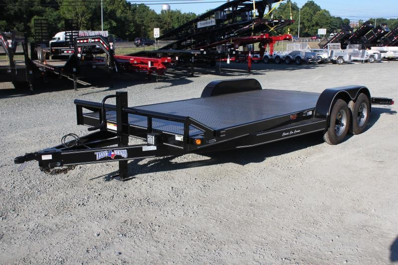 2019 Texas Bragg Trailers 20 CCC 10K Car Trailer