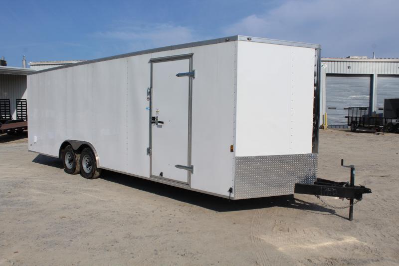Used 2017 Continental Cargo 8.5X24 10K Enclosed Car Trailer w/ Ramp in Ashburn, VA