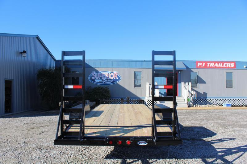 2018 PJ Trailers 20ft CC 14K Equipment Trailer w/Fold Up Ramps
